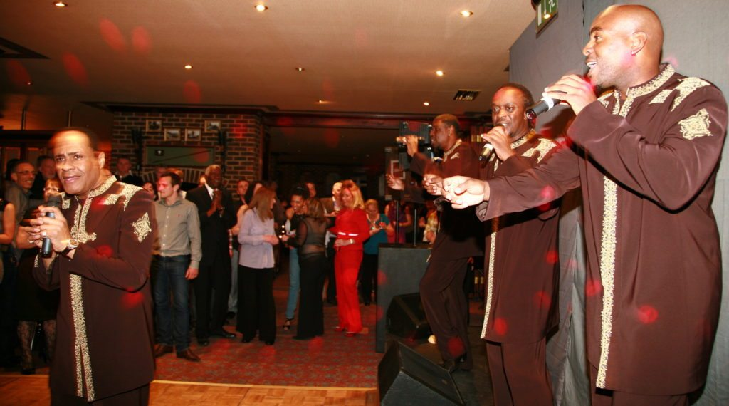 Performing With The Drifters