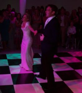 Playing The First Dance At Eastenders & Bill Actress Lucy Speed's Wedding