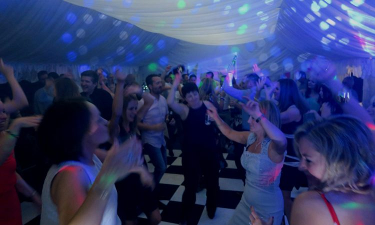 Marquee Chelmsford 40th birthday party disco