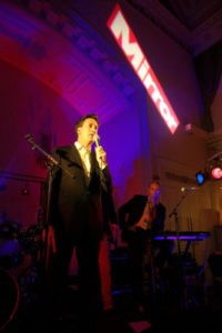 Introducing Ed Milliband At Daily Mirror Sponsored Labour Party Confererence After Party