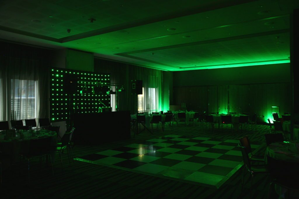 Radisson Edwardian Docklands, Uplighting Green