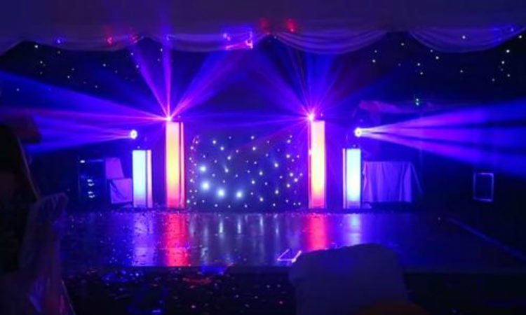 Wedding Discos Stage - Essex, Hertfordshire, London