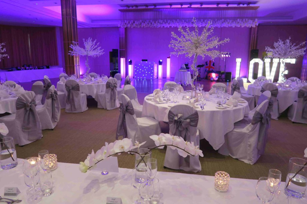 The Grove, Watford, Herts Wedding Reception