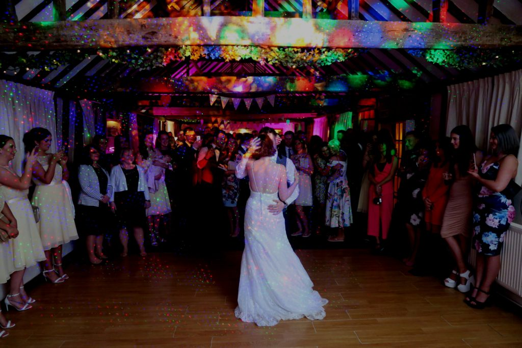 The Reid Rooms, Essex, Wedding First Dance