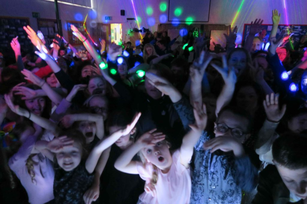 Theydon Bois Primary School, Essex, School Disco