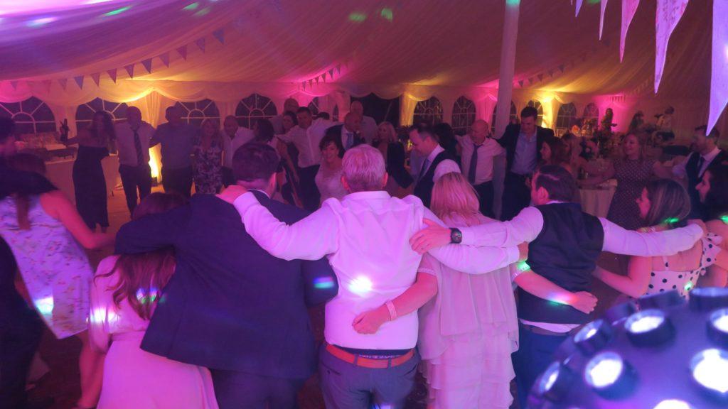 Marquee Cornwall Wedding